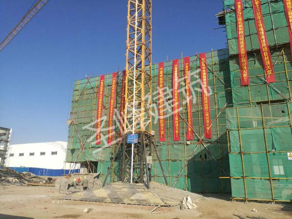 银川开发区公安分局济民路派出所建设工程顺利封顶